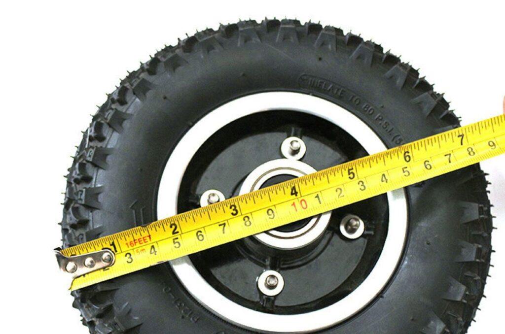 Диаметр колес электросамоката.